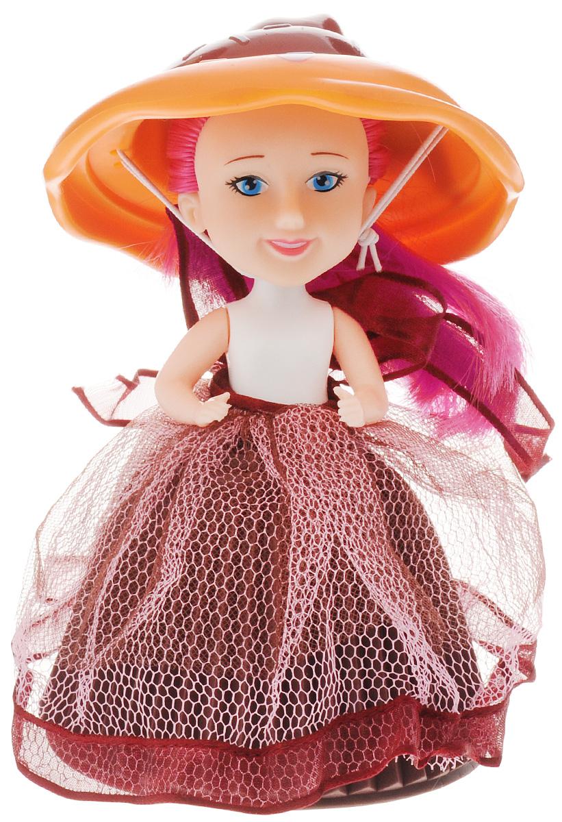 PlayMind Мини-кукла Coco Orange39185B_коричневый, оранжевыйМини-кукла PlayMind Coco Orange одета в милое платьице с пышной юбкой и имеет очаровательный аксессуар в виде широкой шляпки. Данная игрушка может принять вид аппетитного кекса, который девочки смогут использовать во время воображаемых чаепитий и игр с детскими кухнями. У куклы длинные волосы, которые можно укладывать в разнообразные прически и заплетать в косички. Игрушка изготовлена из качественных и безопасных материалов.