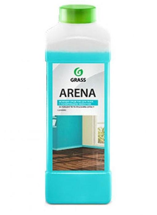 Моющее средство для пола Grass Arena, нейтральное, 1 л218001Средство Grass Arena предназначено для мытья и ухода за полом и другими видами моющихся поверхностей. Благодаря безопасной формуле идеально подходит для паркета, ламината, натурального камня, кафеля, лакированных и других водостойких поверхностей. Придает блеск, не оставляет разводов и налета. Обладает полирующим эффектом, обновляет внешний вид. Экономичен, благодаря концентрированной формуле. Товар сертифицирован.