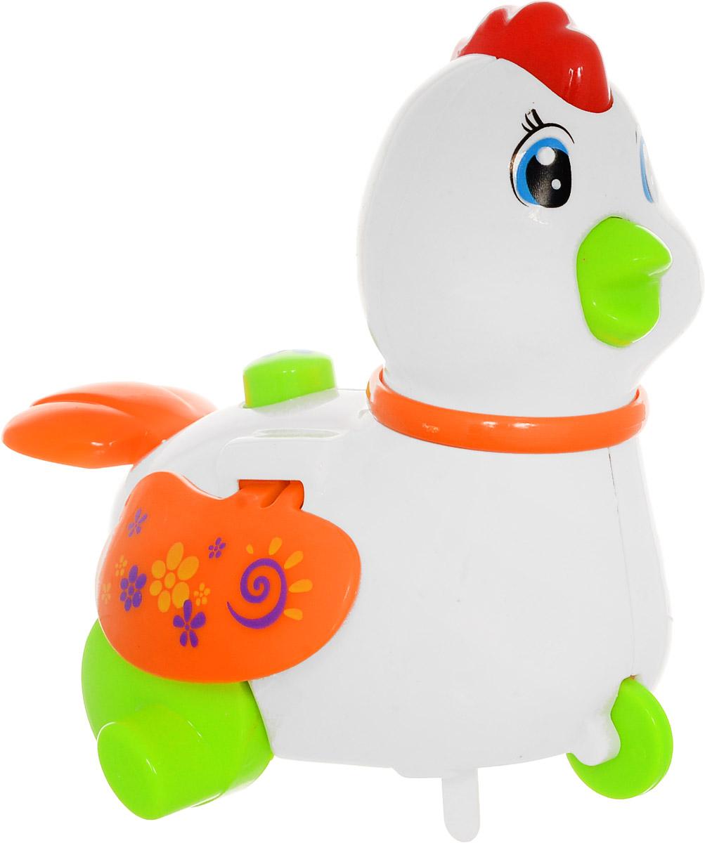 Huile Toys Заводная игрушка Курочка559_белыйЗаводная игрушка Huile Toys Курочка привлечет внимание вашего малыша и не позволит ему скучать! Игрушка выполнена из безопасного материала и оснащена световыми и звуковыми эффектами. Для запуска игрушки поверните заводной ключ по часовой стрелке до упора. Заводная игрушка поможет ребенку в развитии воображения, мелкой моторики рук, концентрации внимания и цветового восприятия.
