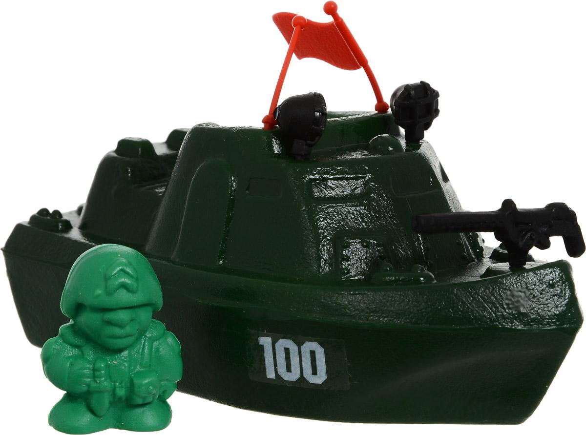 Форма Патрульный катер Патриот с солдатикомС-71-Ф/солдатикПатрульный катер Форма Патриот в комплекте с солдатиком, управляющим морским судном, выполнен из качественных материалов, которые не доставят малышу дискомфорта во время игры. Катер можно припарковать в фантазийном порту на суше или же отправить его на выполнение боевого задания в ванной, наполненной водой.