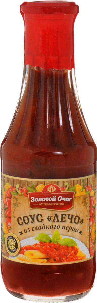 Золотой Очаг соус лечо из сладкого перца, 540 г
