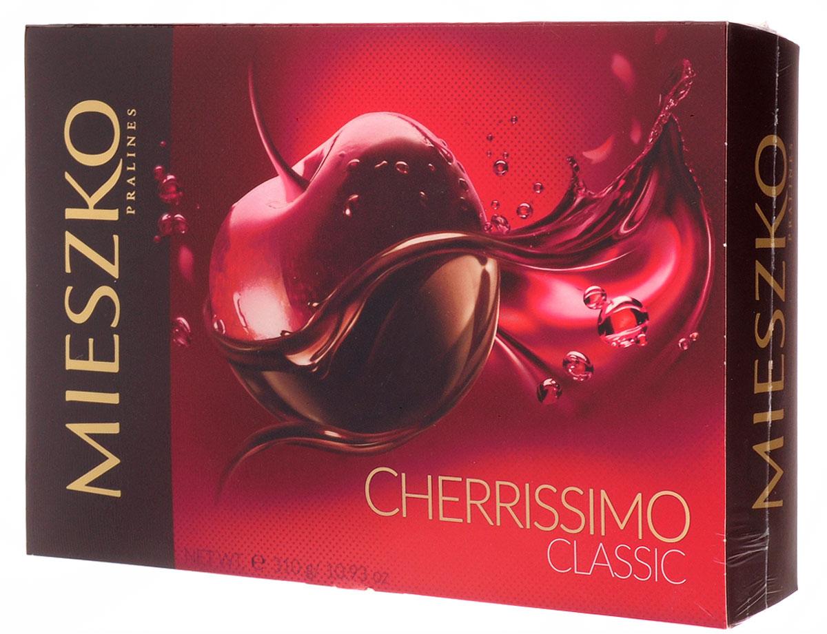 Mieszko Черрисимо набор шоколадных конфет, 310 г13355Когда уникальный аромат пралине сочетается с элегантным дизайном, возникает шоколадный подарок, о котором мечтали многие. Классическое сочетание интенсивного аромата шоколада и сочной вишни всегда хороший выбор, независимо от сезона. Тщательно подобранные, сочные фрукты, в сопровождении уникального шоколада и небольшого намека вашего любимого алкоголя, обогащенного натуральным вишневым соком, обеспечит уникальный опыт и разбудит ваше воображение. Уважаемые клиенты! Обращаем ваше внимание, что полный перечень состава продукта представлен на дополнительном изображении.