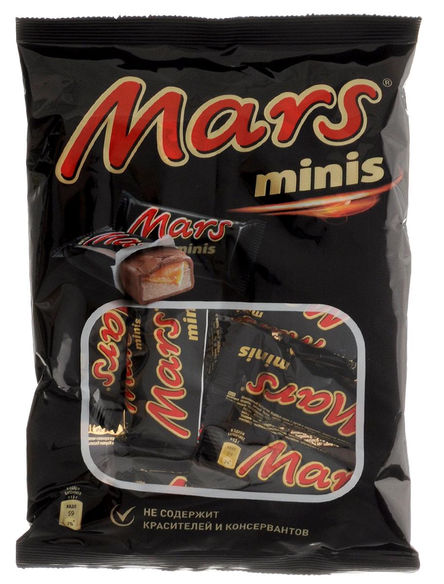 Mars minis шоколадные батончики, 182 г79009021Mars minis - это уникальное сочетание нуги, карамели и лучшего молочного шоколада. Знакомый всем с детства Марс в формате Минис удобно разделить с друзьями, коллегами, близкими и родными. Сложно найти для чаепития что-то более подходящее, чем Марс Минис. Уважаемые клиенты! Обращаем ваше внимание, что полный перечень состава продукта представлен на дополнительном изображении. Упаковка может иметь несколько видов дизайна. Поставка осуществляется в зависимости от наличия на складе.