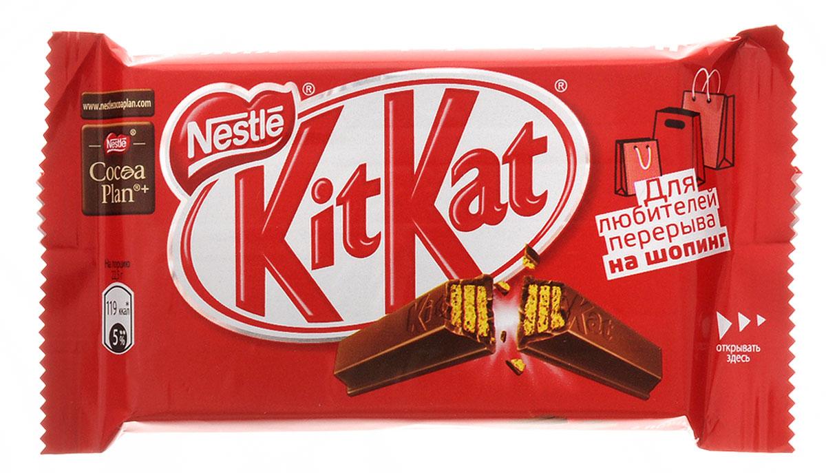 KitKat 4Fingers шоколадный батончик, 45 г