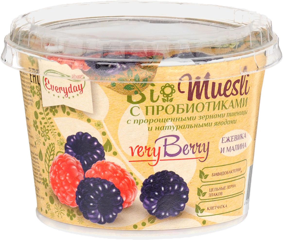 Everyday Bio мюсли с лесными ягодами, 35 г (стакан)бйф012Тщательно подобранные сочетания ягод удачно оттеняют друг друга, делая вкус мюсли еще более ярким, а технология сублимационной сушки сохраняет витамины и микроэлементы, благодаря которым ягоды так полезны для нашего здоровья. Уважаемые клиенты! Обращаем ваше внимание, что полный перечень состава продукта представлен на дополнительном изображении.