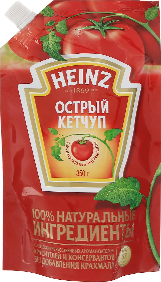 Heinz кетчуп Острый, 350 г