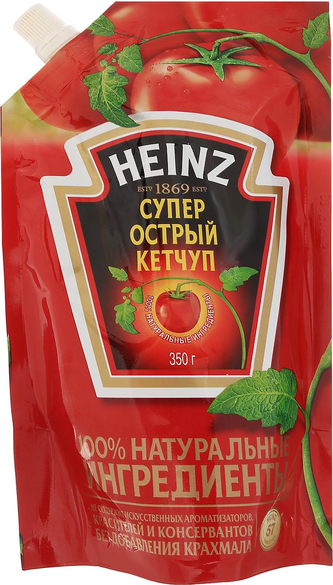 Heinz кетчуп Супер Острый, 350 г 79000233