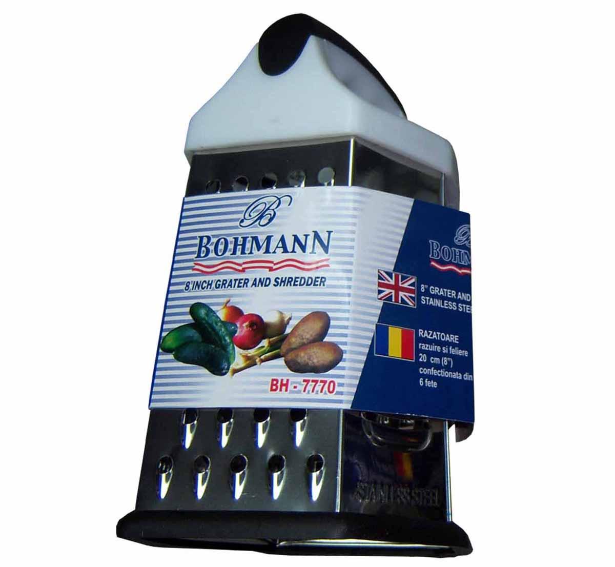 Терка Bohmann. 7770BH7770BHТерка Пластмассовая ручка-держатель. Размер:6