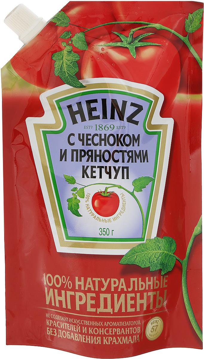 Heinz кетчуп Чесночный, 350 г