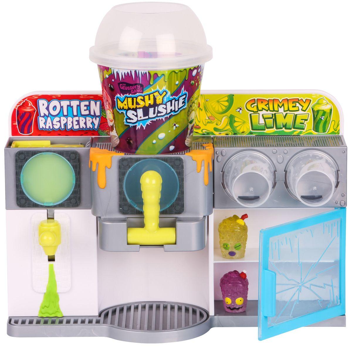 Grossery Gang Игровой набор Машина для приготовления коктейлей690051 x игровой набор 2 x эксклюзивные фигурки 1 x листовка