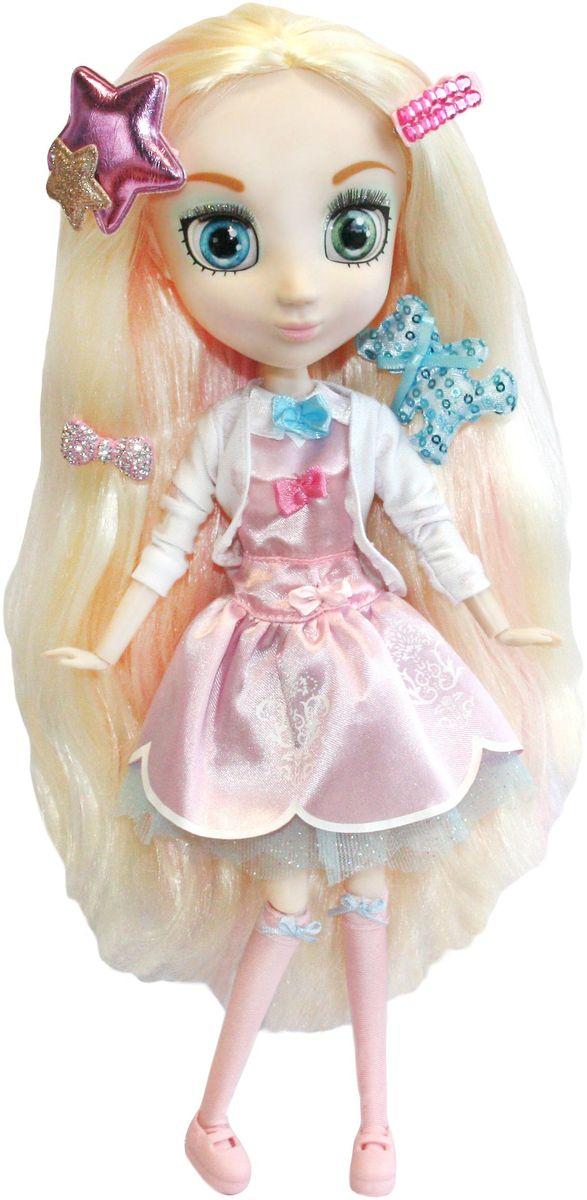 Shibajuku Girls Кукла ШидзукиHUN2154Это не обычные Fashion Dolls – это Shibajuku Girls! Они лучше, чем все существующие куклы! Они выше! Они моднее! У них живые, реалистичные глаза. У них крутые аксессуары и заколки, которые могут носить и девочки! Шидзуки - очень талантливая и креативная! Больше всего она любит сочинять музыку, а когда вырастет, хочет стать модным дизайнером! Кукла одета в элегантное атласное платье нежно-розового цвета, поверх которого надета легкая белая кофточка, а на ногах у нее - длинные гольфы с подвязочками и аккуратные туфельки на плоской подошве.