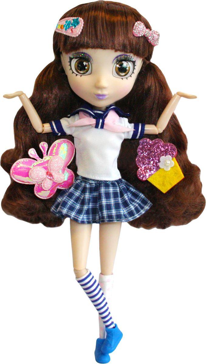 Shibajuku Girls Кукла НамикаHUN2161Это не обычные Fashion Dolls – это Shibajuku Girls! Они лучше, чем все существующие куклы! Они выше! Они моднее! У них живые, реалистичные глаза. У них крутые аксессуары и заколки, которые могут носить и девочки! Намика, ее страсть - это наука! Она любит асрономию и звезды. Когда она вырастет, хочет посвятить свою жизнь исследованиям! Кукла одета в белуо-синюю футболку и короткую клетчатую юбку, на ногах у нее - длинные гольфы в полосочку и аккуратные ботиночки.