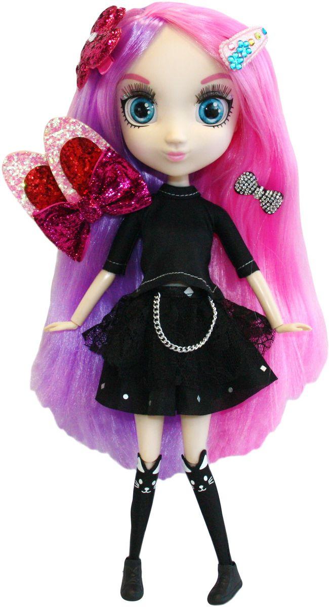 Shibajuku Girls Кукла ЙокоHUN2185Это не обычные Fashion Dolls – это Shibajuku Girls! Они лучше, чем все существующие куклы! Они выше! Они моднее! У них живые, реалистичные глаза. У них крутые аксессуары и заколки, которые могут носить и девочки! Йоко большая поклонница рок-стиля и всего мистического! Она любит читать и играть на электро-гитаре. А когда вырастет, хочет стать писателем! У куклы длинные, густые сиренево-розовые волосы и выразительные голубые глаза.