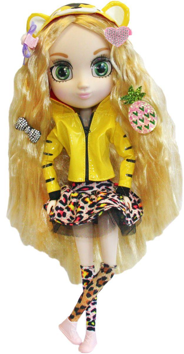 Shibajuku Girls Кукла КоеHUN2307Это не обычные Fashion Dolls – это Shibajuku Girls! Они лучше, чем все существующие куклы! Они выше! Они моднее! У них живые, реалистичные глаза. У них крутые аксессуары и заколки, которые могут носить и девочки! Кое - очень любит животных и однажды мечтает жить в их дикой среде обитания! Она бы очень хотела уметь перевоплощаться в животных! Кукла одета в леопардовые гетры и пышную юбку, ярко-желтую курточку на молнии, а на ногах у нее - аккуратные светлые ботиночки.