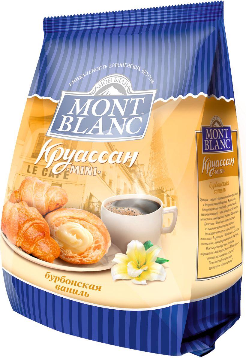 Mont Blanc круассаны мини Бурбонская ваниль, 200 г