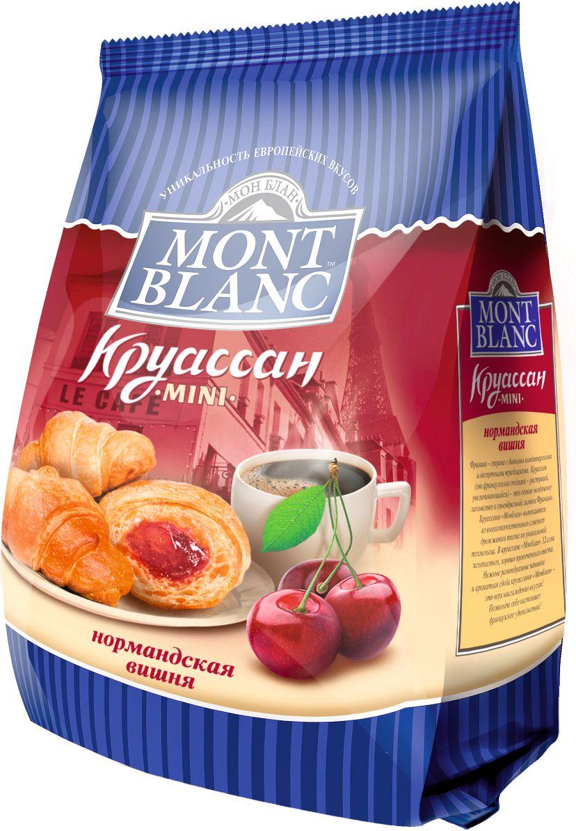 Mont Blanc круассаны мини Нормандская вишня, 200 г