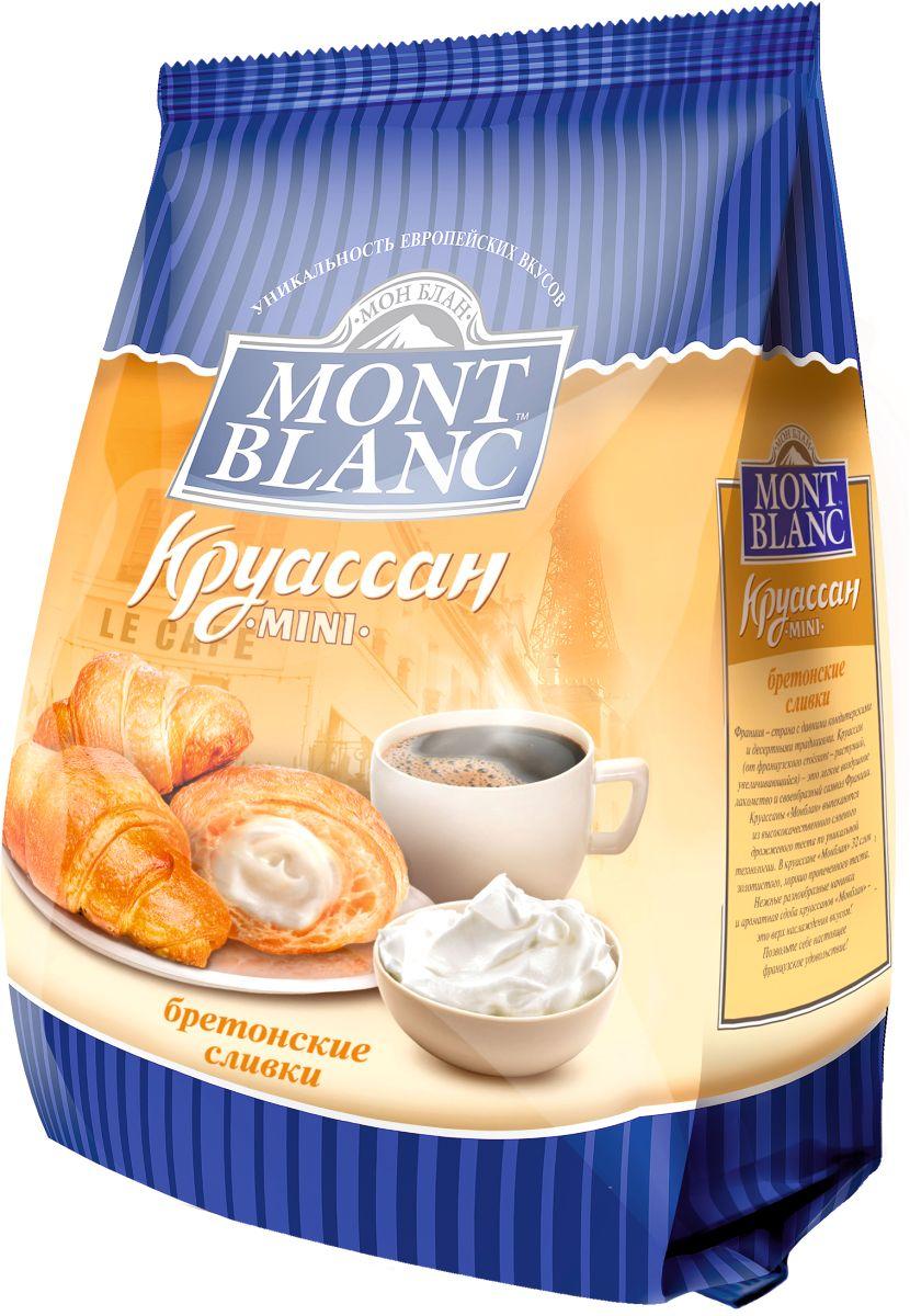 Mont Blanc круассаны мини Бретонские сливки, 200 г70103Французские мини-круассаны с начинкой в виде крема или джема. Виды: Клубника, Ваниль, Орех, Вишня, Сливки, Абрикос, Шоколад, Карамель, Микс.