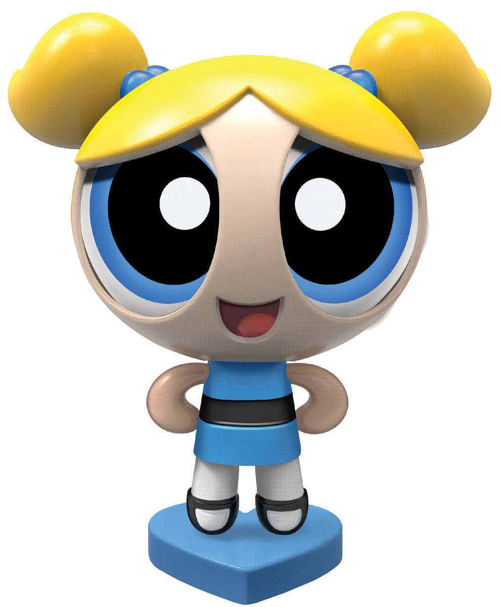 Powerpuff Girls Фигурка Пузырек22302_20073490Пузырек - самая наивная, глуповатая и доверчивая из трех Суперкрошек, ведет себя как ребенок, хотя перед лицом опасности может вести себя совсем иначе. Также она самая милая и чувствительная. Ее личный ингредиент это сахар. Ее костюм голубого цвета, а волосы: два коротких светлых хвостика. Как и все Суперкрошки, имеет уникальную суперспособность - знает много языков, в том числе испанский и японский, также умеет разговаривать с животными и понимать что они говорят. Особенность ее личности - это доброта и радость. Фигурки Powerpuff Girls - маленькие куколки - героини мультфильма Суперкрошки. В основе сюжета мультфильма лежат приключения необычных девочек, которые стали результатом неудачного опыта профессора Утония, пытавшегося создать идеальную девочку. Но в процессе смешивания различных ингредиентов в смесь попало неизвестное химическое вещество, и итог эксперимента стал неожиданным для учёного: девочки получились вовсе не идеальными, но зато обладающие сверхспособностями! ...