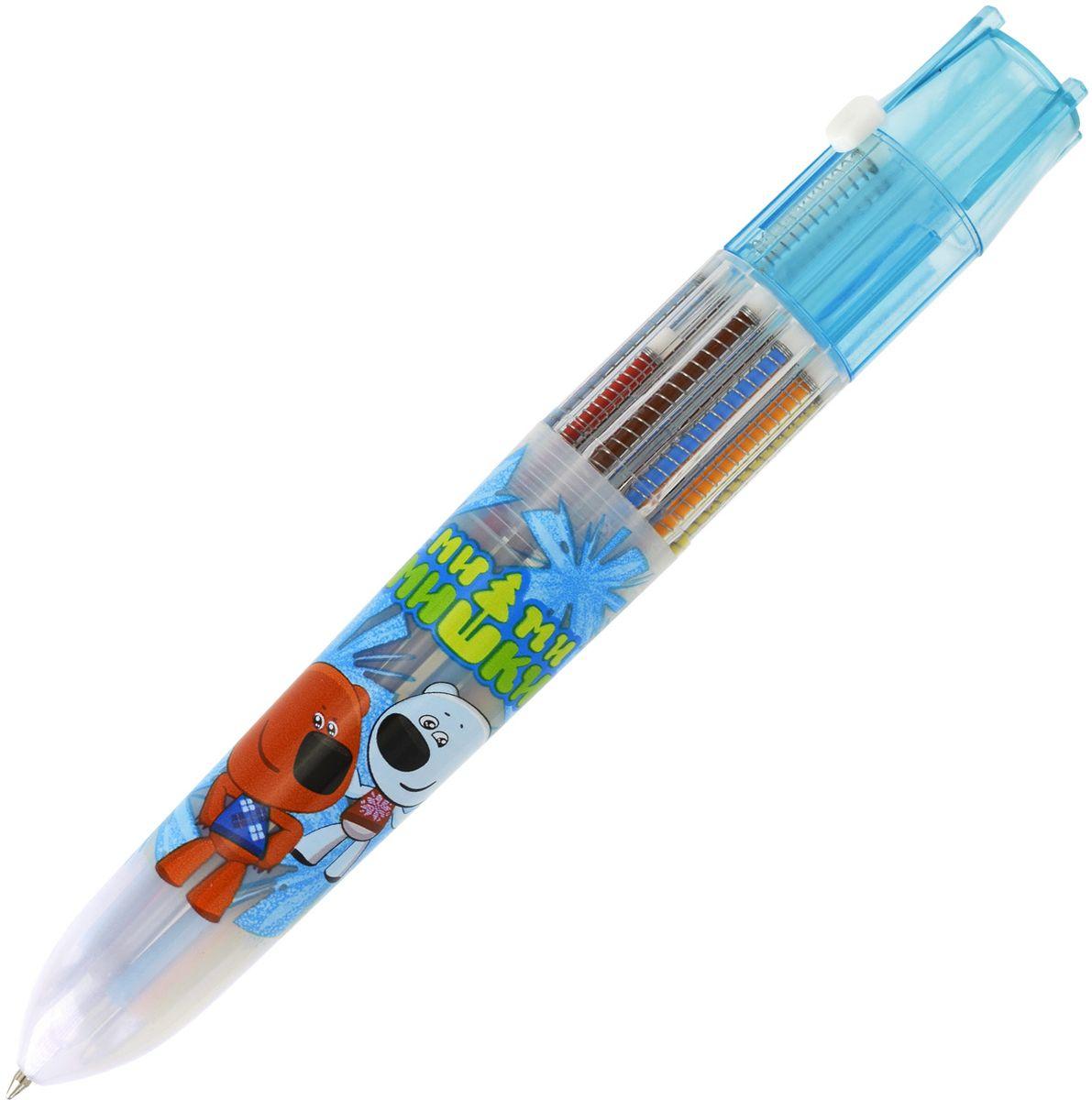 Action! Ручка шариковая Fancy 10 цветовFBP201/10/BПластиковый прозрачный корпус. 10 цветов в одной ручке: голубой, синий, красный, коричневый, зеленый, желтый, оранжевый, розовый, черный, сиреневый. Диаметр шарика - 0,7 мм