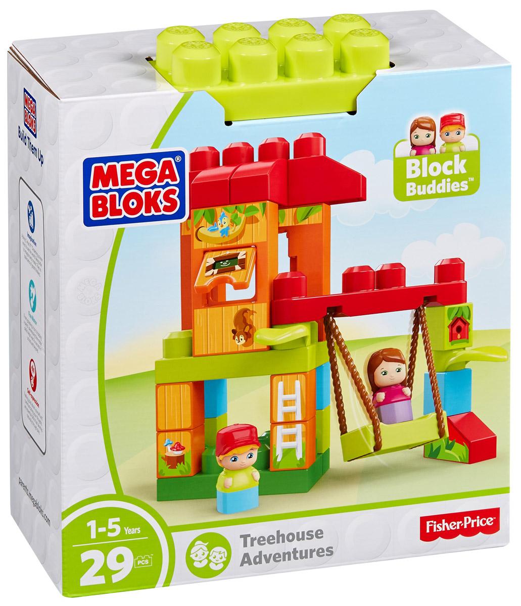 Mega Bloks Storytelling Конструктор Домик на деревеDKX85_DXH37