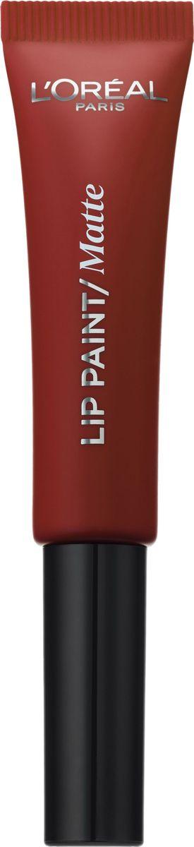 LOreal Paris Краска для губ Инфаибль Lip Paint в формате жидкой помады, Оттенок 205, Красное откровениеA8987000Яркие пигменты помад дарят насыщенный цвет, а плотная текстура легко ложится на губы и не стирается. Профессиональный аппликатор позволяет легко и точно нанести продукт на губы.