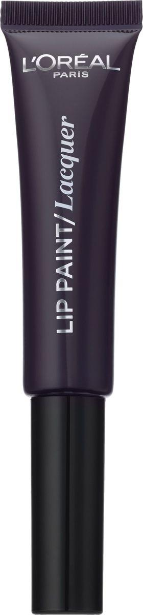 LOreal Paris Краска для губ Infaillible Lip Paint в формате жидкой помады, Оттенок 107, Ночная рекаA8987300Яркие пигменты помад дарят насыщенный цвет, а плотная текстура легко ложится на губы и не стирается. Профессиональный аппликатор позволяет легко и точно нанести продукт на губы.