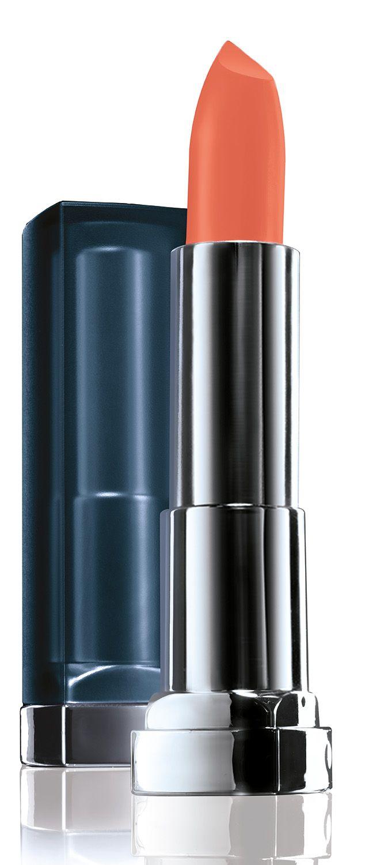 Maybelline New York Увлажняющая помада для губ Color Sensational Матовое Обнажение, Оттенок 983, Теплый Бежевый, 4,4 гB2865301Новая трендовая коллекция матовых оттенков помад Color Sensational! Содержат матовые пигменты, которые обеспечивают чистый глубокий цвет на губах с пудровым матовым финишем. Кремовая текстура помад, обогащенная увлажняющими ингредиентами, наносится гладким слоем и не пересушивает губы.