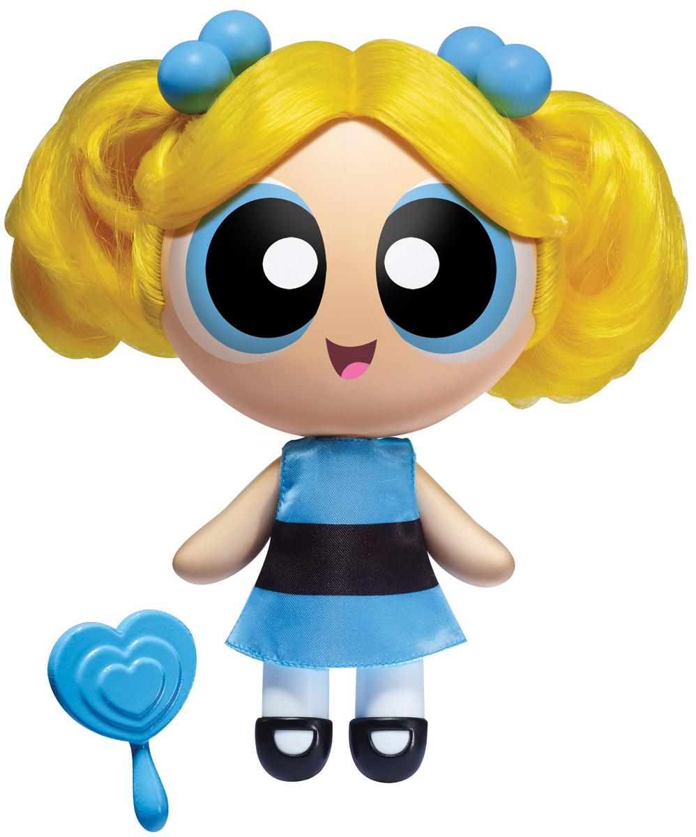 Powerpuff Girls Мини-кукла Пузырек22308_ПузырекКуклы Powerpuff Girls выглядят довольно мило - не сразу догадаешься, что это любимые героини мультфильма Суперкрошки, способные сражаться со злодеями. В основе сюжета этого анимационного мультфильма - приключения необычных девчонок, ставших итогом неудачного опыта профессора Утония, который пытался создать идеальную девочку в своей лаборатории. В процессе смешивания различных ингредиентов в смесь попало неизвестное химическое вещество - в результате на свет появились девочки, обладающие сверхспособностями, которых назвали Суперкрошками. С тех пор невероятные способности помогают девочкам бороться с силами зла, защищая свой город Таунсвилль. Пузырек - самая наивная, глуповатая и доверчивая из трех Суперкрошек, ведет себя как ребенок, хотя перед лицом опасности может вести себя совсем иначе. Также она самая милая и чувствительная. Ее личный ингредиент это сахар. Ее костюм голубого цвета, а волосы: два коротких светлых хвостика. Как и все Суперкрошки, имеет уникальную...