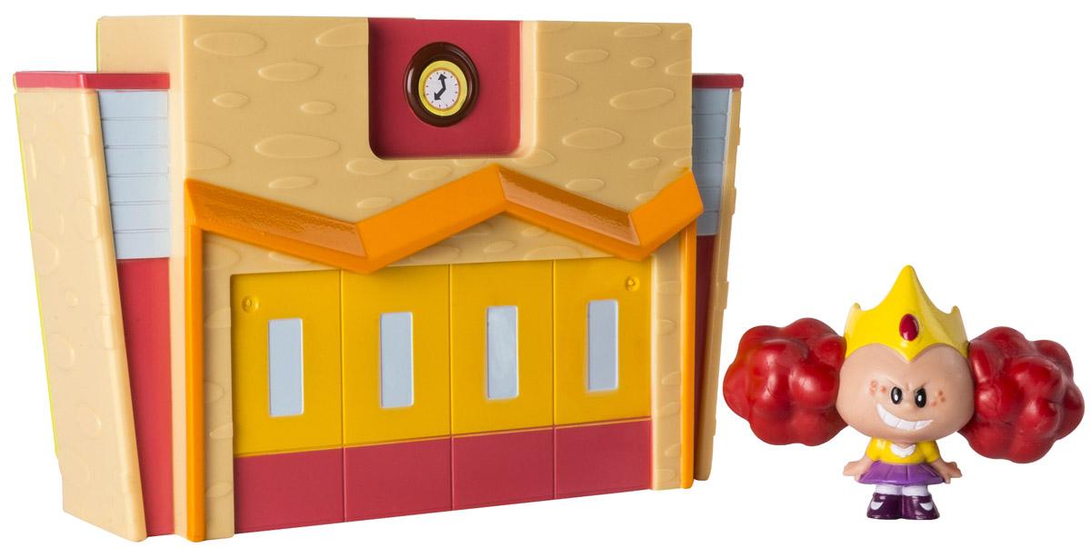 Powerpuff Girls Игровой набор Принцесса Морбакс22310_Принцесса МорбаксИгровой набор Powerpuff Girls Принцесса Морбакс создан по мотивам мультфильма Суперкрошки! В комплект входит небольшой домик, у которого откидывается стенка, а также фигурка злого персонажа - принцессы Морбакс. Набор выполнен из высококачественного пластика, выглядит очень ярко и эффектно - увлекательная сюжетно-ролевая игра с ним обеспечена! Суперкрошки - занимательный мультфильм, который повествует о трех девочках, по неосторожности созданных профессором Утонием во время эксперимента. Они обладают суперспособностями и ведут неустанную борьбу со злом в вымышленном городе Таунсвилль.
