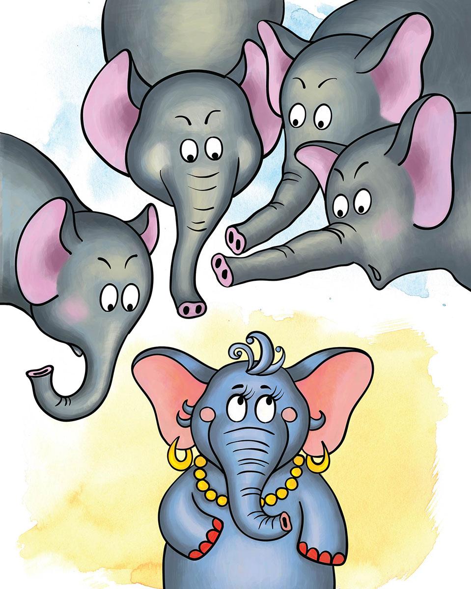 Marker Записная книжка Слоны 24 листа в клетку