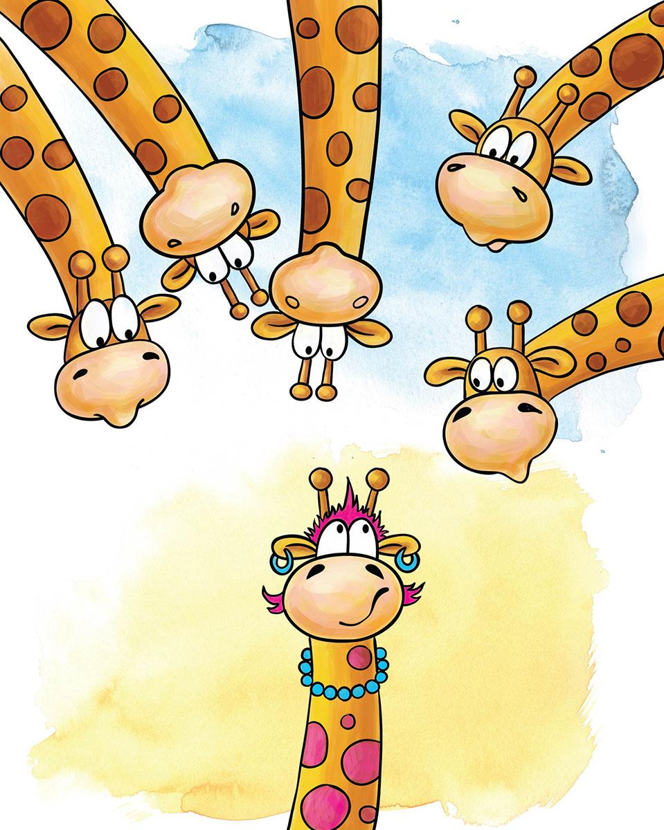Marker Записная книжка Жирафы 24 листа в клетку