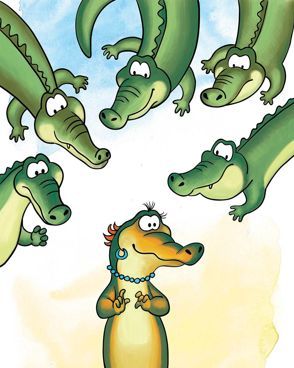 Marker Записная книжка Крокодилы 24 листа в клетку