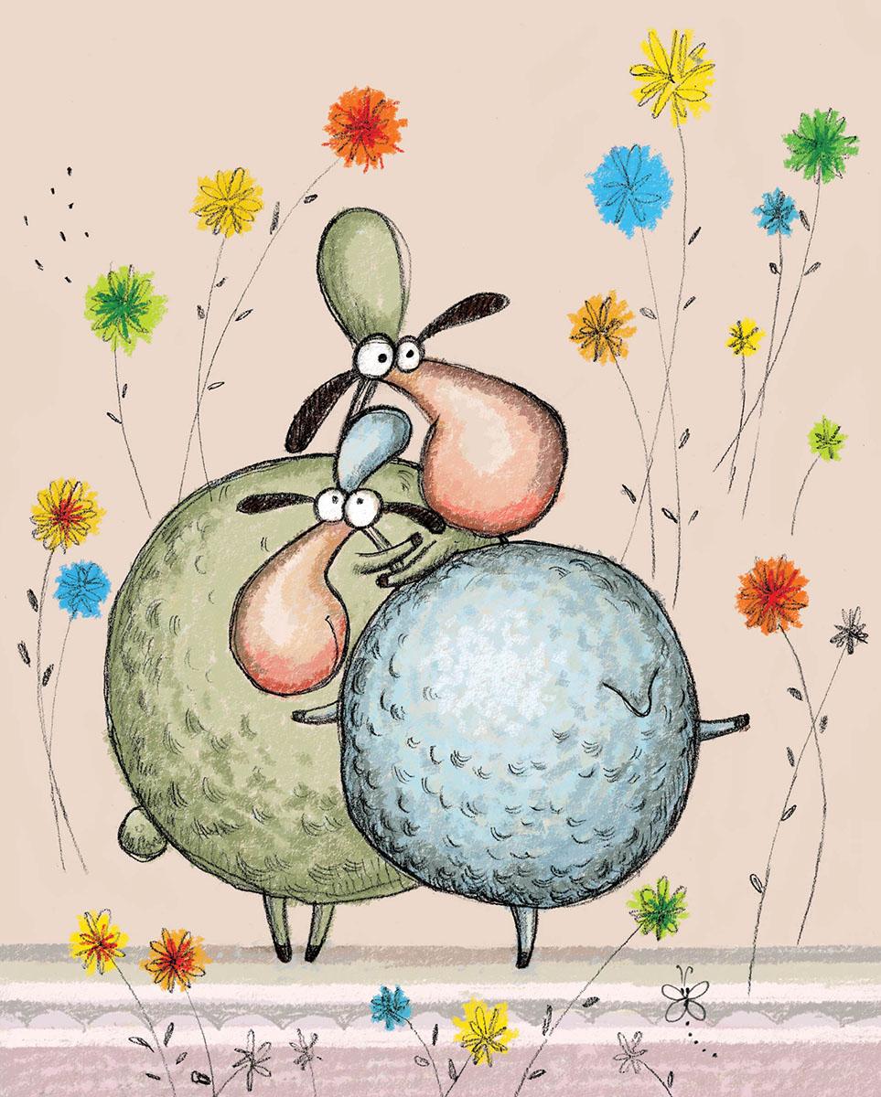 Marker Записная книжка Овцы 24 листа в клетку