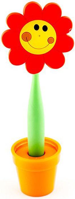 Эврика Ручка шариковая Цветок Смайлик большой на подставке цвет красный96212В скучной офисной обстановке иногда так не хватает чего-то солнечного, живого, веселого. Гибкая удобная ручка-цветок с подставкой в форме кашпо внесет недостающие нотки непринужденности и весеннего настроения в канцелярские будни. Материал: пластик, силикон. Упаковка: слюдяной пакет.