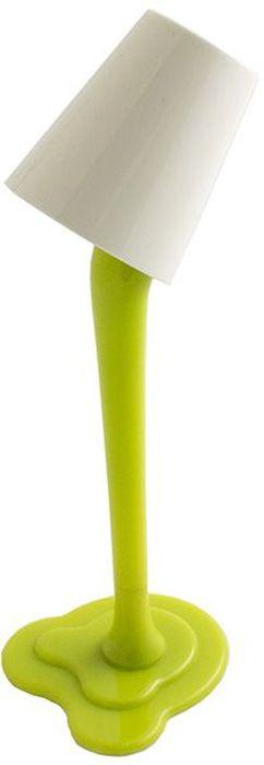 Эврика Ручка шариковая Лампа с подсветкой цвет зеленый97119Удивительная светящаяся настольная ручка-лампа на подставке создает иллюзию, будто небольшое ведерко с краской зависло в воздухе. Стильная, яркая, необычная вещица украсит собой рабочий стол, подсветит подписываемый документ и удивит коллег. Материал корпуса - пластик.