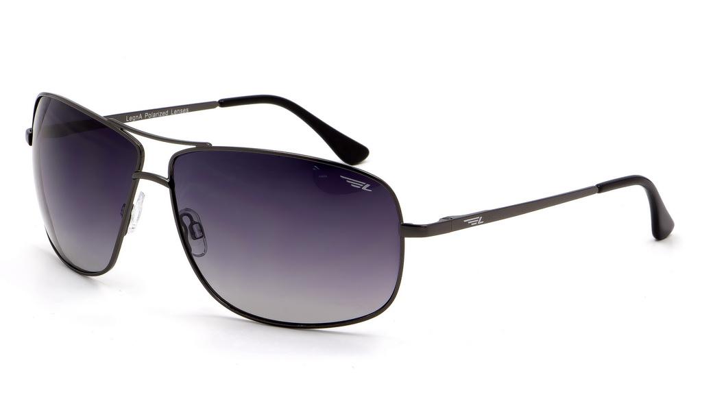 Очки мужские поляризационные Legna, цвет: черный, серый. S4602AS4602AСолнцезащитные очки LEGNA с поляризационными линзами превосходно предохраняют глаза от любого рода вредных бликов и УФ-лучей, что делает вождение безопасным и комфортным. Также очки LEGNA ничем не уступают самым известным маркам и брендам в эстетической части. Благодаря линзам премиум класса очки LEGNA прекрасно подходят для повседневной носки, занятий спортом, отдыха и конечно для использования за рулем.