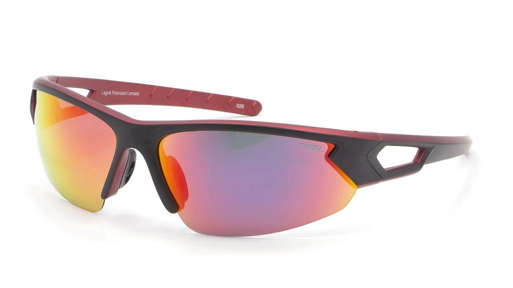 Очки поляризационные Legna, цвет: черный, красный. S8367AS8367AСолнцезащитные очки Legna с поляризационными линзами превосходно предохраняют глаза от любого рода вредных бликов и УФ-лучей, что делает вождение безопасным и комфортным. Также очки Legna ничем не уступают самым известным маркам и брендам в эстетической части. Благодаря линзам премиум класса очки Legna прекрасно подходят для повседневной носки, занятий спортом, отдыха и конечно для использования за рулем.