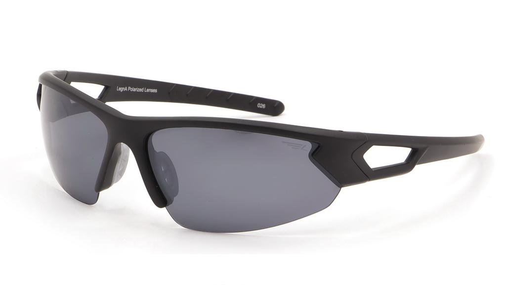 Очки поляризационные Legna, цвет: черный, серый металлик. S8367CS8367CСолнцезащитные очки LEGNA с поляризационными линзами превосходно предохраняют глаза от любого рода вредных бликов и УФ-лучей, что делает вождение безопасным и комфортным. Также очки LEGNA ничем не уступают самым известным маркам и брендам в эстетической части. Благодаря линзам премиум класса очки LEGNA прекрасно подходят для повседневной носки, занятий спортом, отдыха и конечно для использования за рулем.
