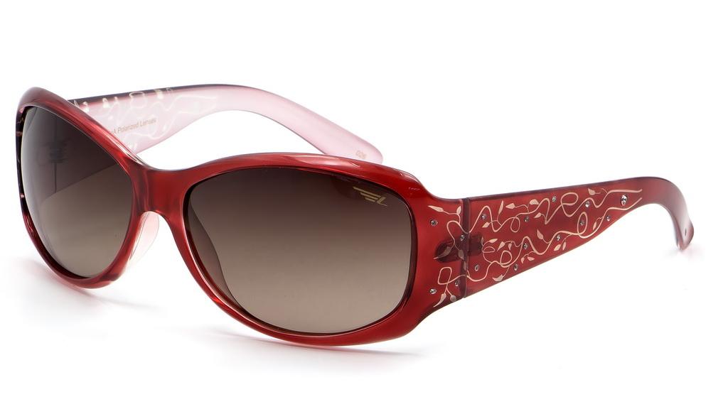 Очки поляризационные женские Legna, цвет: бордовый, коричневый. S8369BS8369BСолнцезащитные очки Legna с поляризационными линзами превосходно предохраняют глаза от любого рода вредных бликов и УФ-лучей, что делает вождение безопасным и комфортным. Также очки Legna ничем не уступают самым известным маркам и брендам в эстетической части. Благодаря линзам премиум класса очки Legna прекрасно подходят для повседневной носки, занятий спортом, отдыха и конечно для использования за рулем.