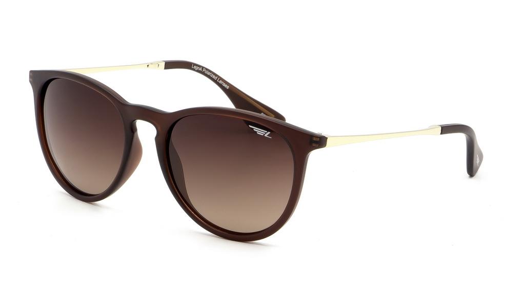 Очки поляризационные Legna, цвет: коричневый. S8602BS8602BСолнцезащитные очки LEGNA с поляризационными линзами превосходно предохраняют глаза от любого рода вредных бликов и УФ-лучей, что делает вождение безопасным и комфортным. Также очки LEGNA ничем не уступают самым известным маркам и брендам в эстетической части. Благодаря линзам премиум класса очки LEGNA прекрасно подходят для повседневной носки, занятий спортом, отдыха и конечно для использования за рулем.