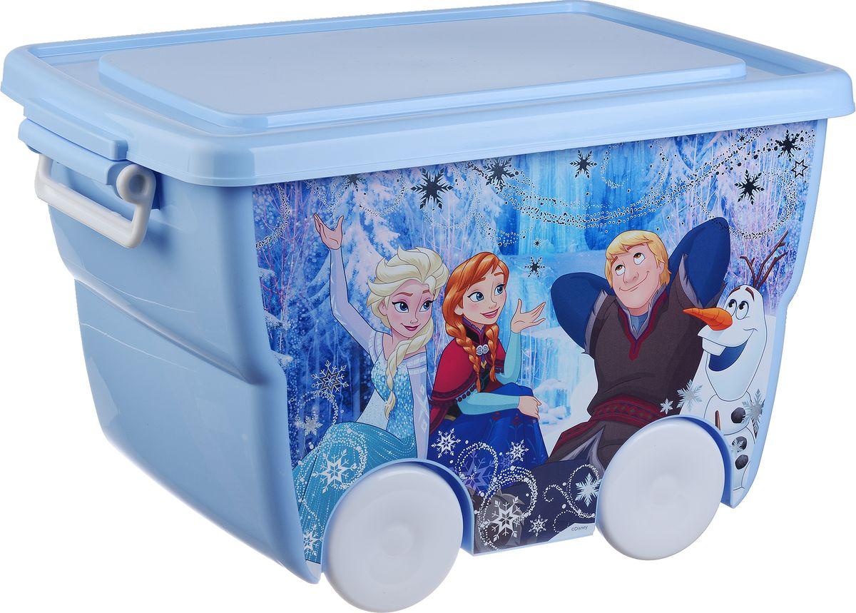 Disney Ящик для игрушек цвет голубой 45,5 х 32,5 х 28,5 смМ 2550-Д
