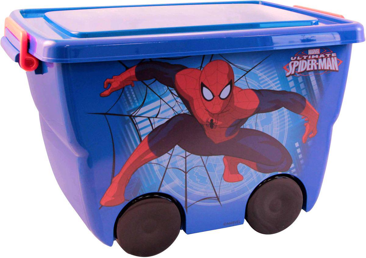 Disney Ящик для игрушек Человек-паук цвет синий 45,5 х 32,5 х 28,5 смМ 2550-М