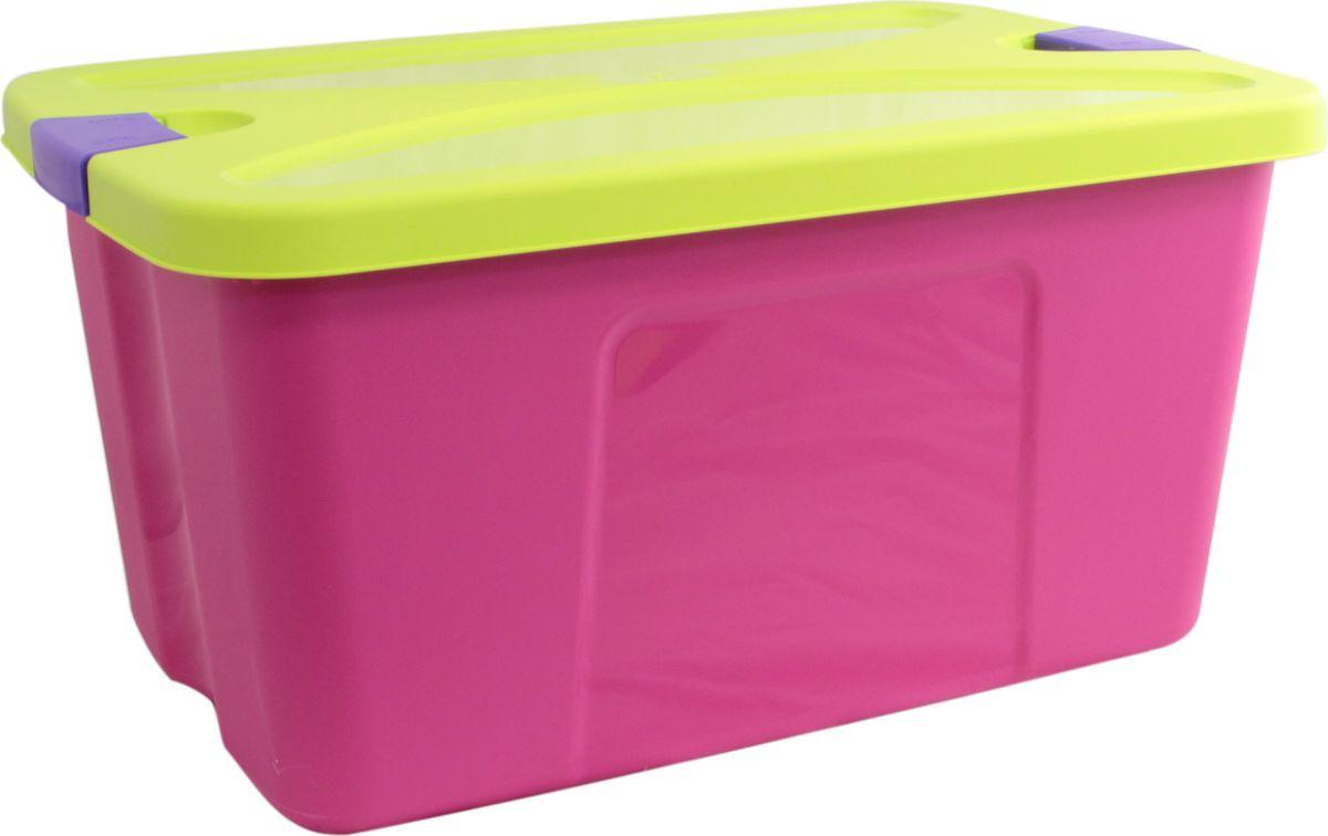 Idea Ящик для игрушек Секрет цвет малиновый 39 х 59 х 29,5 смМ 2597