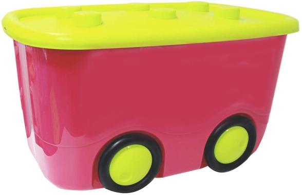 Idea Ящик для игрушек Моби цвет малиновый 41,5 х 60 х 32 смМ 2598