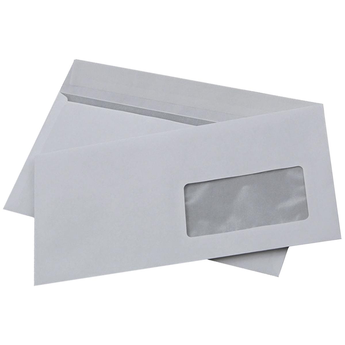 Конверт E65 200 шт 70203.20070203.200Почтовый конверт формата E65 из белой офсетной бумаги с прозрачным окном. Предназначен для почтовых отправлений. Внутри -серая запечатка