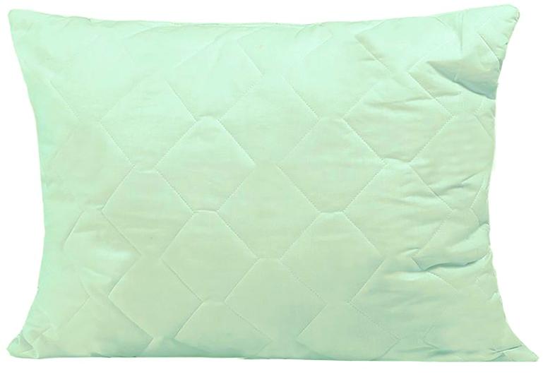 Подушка Mona Liza, цвет: салатовый, 50 х 70 см. 539414539414_салатовый, 50 х 70Подушка Mona Liza подарит вам незабываемое чувство комфорта и умиротворения. Чехол выполнен из поликоттона, украшен изображением стеблей бамбука, фигурной стежкой и кантом по краю. В качестве наполнителя используется бамбуковое волокно, которое обладает удивительным балансом различных свойств и удовлетворяет требования даже самого изысканного покупателя. Такой наполнитель сохраняет ценные свойства растения и одновременно обеспечивает легкость изделия, мягкость и долговечность. Высокосиликонизированное волокно Royalton придает изделию упругость, быстро восстанавливает форму после смятия, имеет высокую стойкость к ее сохранению с течением времени. Свойства подушки с бамбуком: - Наполнитель обладает природным свойством антибактериальности, как в природе, так и в быту это волокно не повреждается грибками, плесенью и вредителями; это свойство сохраняется при многократных стирках. - Прочность и мягкость: плотность бамбукового волокна в 2...