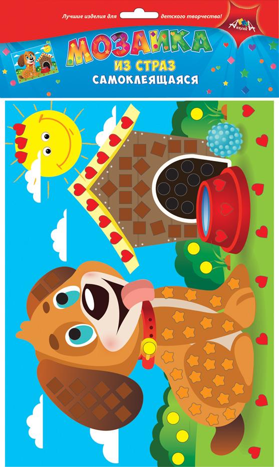 Апплика Мозаика ЩенокС3081-06Мозаика для малышей из цветных самоклеящихся страз. Набор для творчества Щенок. Формат А4. Набор состоит из: цветной картонной основы, цветных самоклеящихся страз. . Ваш ребенок сможет сделать красивую картину своими руками и повесить их в удобное место. Сами изделия блестят на свету и будут красиво украшать комнату Вашего ребенка