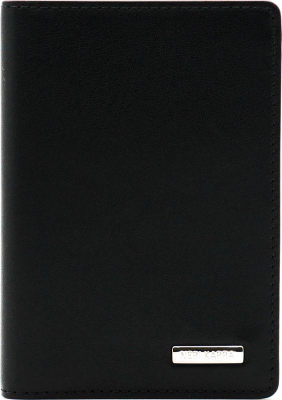 Обложка для автодокументов Neri Karra, цвет: черный. 0132-72 501.010132-72 501.01Обложка для автодокументов Neri Karra из натуральной кожи черного цвета с бордовым кантом, имеет пластиковые файлы для документов, 6 кармашков для карт, окошко с сеточкой
