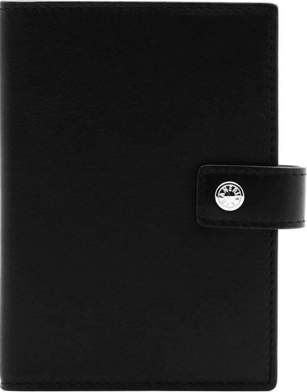 Обложка для паспорта и автодокументов Neri Karra, цвет: черный. 0231 501.010231 501.01Обложка для паспорта и автодокументов Neri Karra выполнена из натуральной кожи. Изделие оформлено прострочкой по краям и застегивается на хлястик с кнопкой. Модель имеет отделение для паспорта, пластиковые файлы для автодокументов, 4 кармашка для карт и окошко с сеточкой.