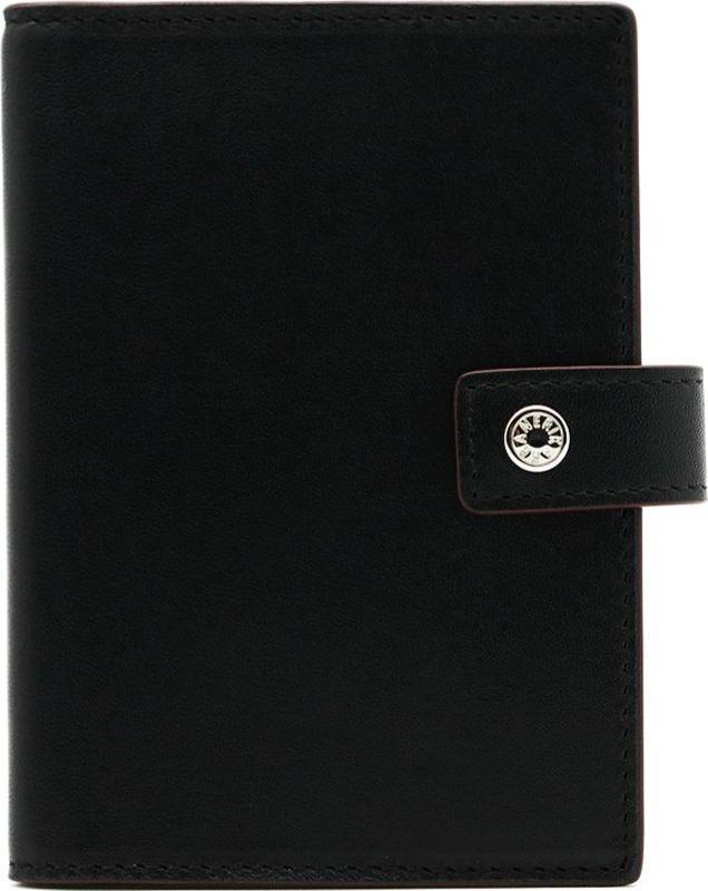 Обложка для паспорта и автодокументов Neri Karra, цвет: черный. 0231-72 501.010231-72 501.01Обложка для паспорта и автодокументов Neri Karra из натуральной кожи черного цвета с бордовым кантом, имеет отделение для паспорта, пластиковые файлы для автодокументов, 4 кармашка для карт, окошко с сеточкой